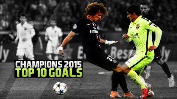 10 گل برتر لیگ قهرمانان اروپا