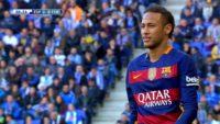 عملکرد نیمار بازیکن بارسلونا در دیدار برابر اسپانیول