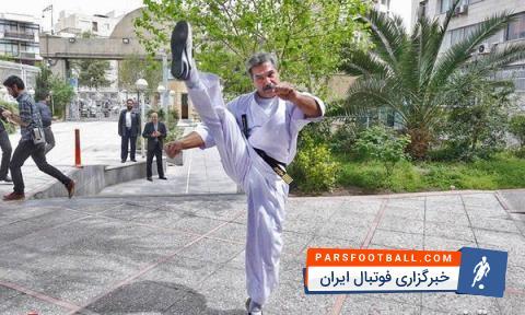 فیلم ؛ حرکات رزمی یکی از کاندیداهای انتخابات ریاست جمهوری ؛ پارس فوتبال