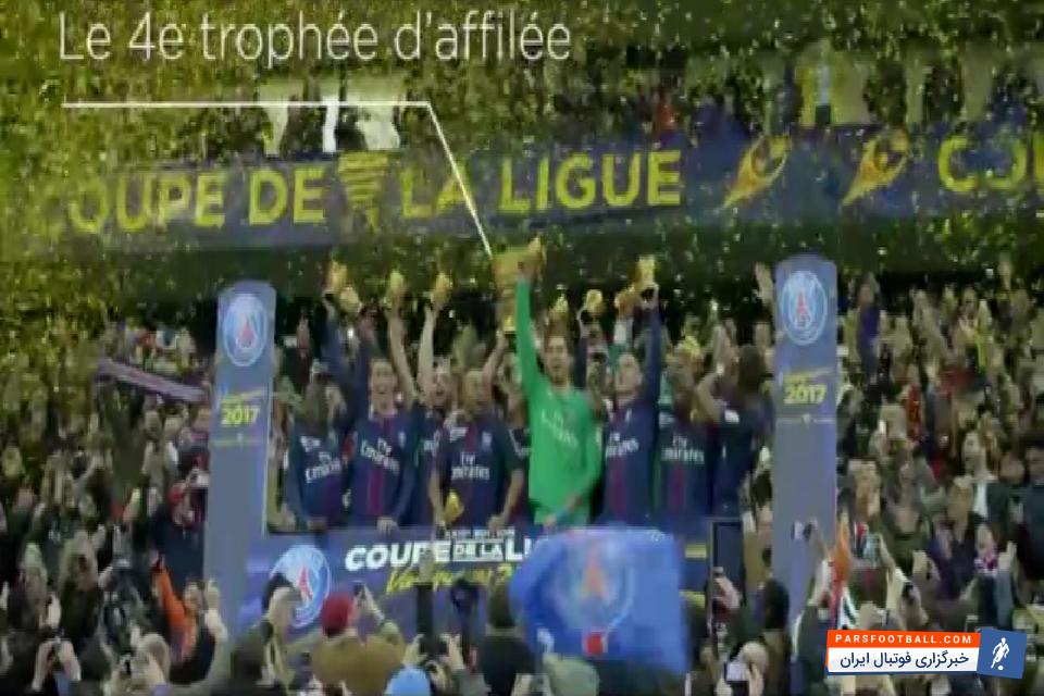 جام حذفی فرانسه جدال حساس پاری سن ژرمن در مقابل موناکو ؛ دانلود رایگان