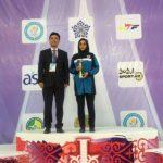 تکواندو - انتخاب اعظم درستی به عنوان بهترین مربی آسیا
