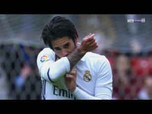 عملکرد ایسکو ستاره رئال مادرید در دیدار برابر خیخون