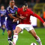 خلاصه بازی منچستریونایتد مقابل اندرلخت در لیگ اروپا