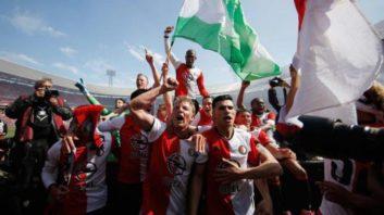 جشن قهرمانی فاینورد بعد از 18 سال در لیگ هلند