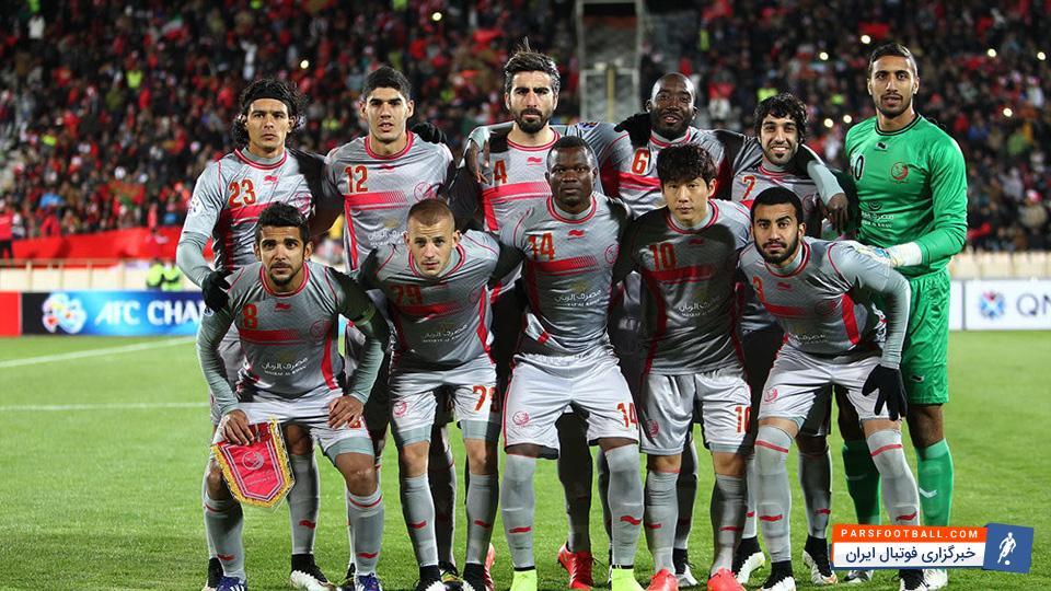 تیم فوتبال لخویا قطر و از سرگیری تمرینات بدون استراحت برای بازی برگشت مقابل پرسپولیس