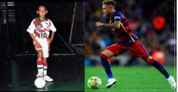 مهارت های فوق العاده نیمار ستاره برزیلی بارسلونا