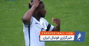 گل به خودی عجیب بازیکن انگلیس مقابل گینه