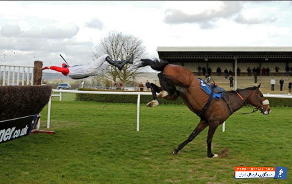 وقتی که دخترِ خانم مجری ،اسب سواری می کند ؛ اسب سواری دختر آزاده نامداری