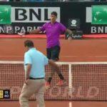 کلیپی جالب از دل پوترو ستاره تنیس جهان