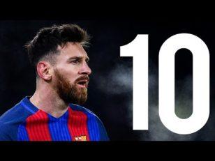 10 لحظه برجسته مسی در بارسلونا 2016/2017