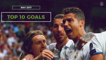 10 گل برتر باشگاه رئال مادرید در ماه مِی 2017