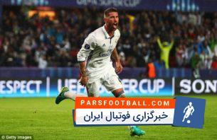 گل های دقایق پایانی رئال مادرید 2016/2017