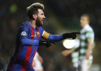 مهارت های دفاعی مسی در بارسلونا فصل 2016/2017