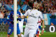 عملکرد بنزما بازیکن رئال مادرید در دیدار برابر اتلتیکومادرید