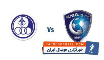 بازی استقلال خوزستان و الهلال