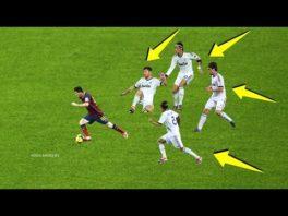 دو ستاره بارسلونا مسی و رونالدینیو نابودگر رئال مادرید