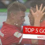 5 گل برتر هفته 31 بوندس لیگا آلمان