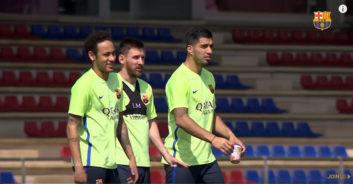 تمرین امروز تیم بارسلونا (96/02/28)