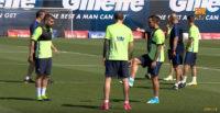 تمرین امروز تیم بارسلونا
