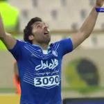 گل اول استقلال به سپاهان توسط جابر انصاری