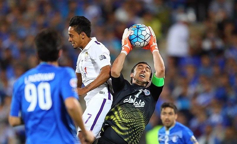 ناصر الشمرانی در بازی برگشت برابر استقلال حضور دارد
