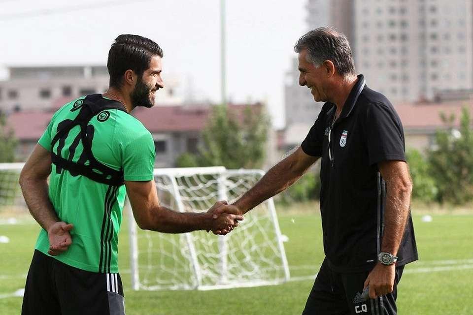 کریم انصاری فرد : دو فصل دیگر با المپیاکوس قرارداد دارم |پارس فوتبال