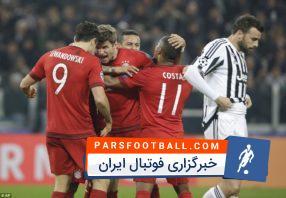 بازگشت رویایی بایرن مونیخ با 4 گل به رقابت های لیگ قهرمانان اروپا
