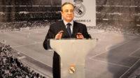 فلورنتینو پرز رئیس باشگاه فوتبال رئال مادرید