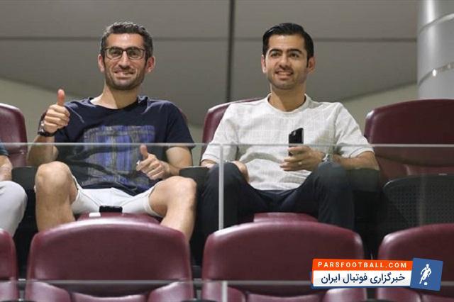 منتظری ؛ علاقهی منتظری به بازگشت همزمان با جباری ؛ پارس فوتبال