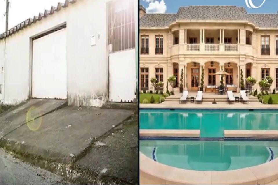 فوتبال کلیپ جالب از خانه های رویایی و زیبای ستاره های فوتبال قبل و بعد از شهرت