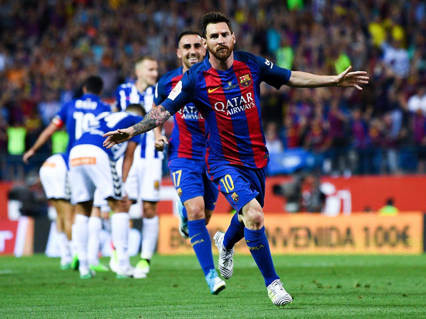 عملکرد مسی بازیکن بارسلونا در دیدار برابر آلاوز؛ پارس فوتبال اولین خبرگزاری فوتبال ایران