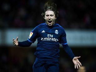 عملکرد مودریچ بازیکن رئال مادرید در دیدار برابر سلتاویگو