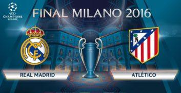 پیش بازی دو تیم رئال مادرید و اتلتیکومادرید در نیمه نهایی لیگ قهرمانان اروپا