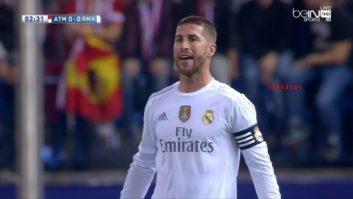 عملکرد راموس بازیکن رئال مادرید در دیدار برابر اتلتیکومادرید
