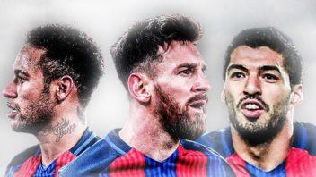 همه گل های مثلث هجومی بارسلونا 2016/2017