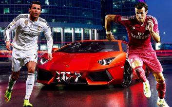 دو ستاره سرعتی تیم فوتبال رئال مادرید