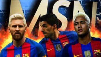 عملکرد مسی ،سوارز و نیمار بارسلونا 2016/2017
