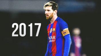 مهارت ها و عملکرد ستاره بارسلونا مسی 2017