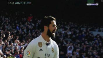 عملکرد ایسکو بازیکن رئال مادرید در دیدار برابر گرانادا