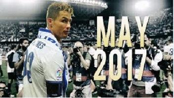 عملکرد رونالدو ستاره رئال مادرید مه 2017