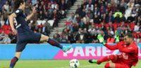 خلاصه بازی پاری سن ژرمن مقابل کان در لیگ فرانسه