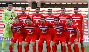 روزنامه پیروزی تیم فوتبال پرسپولیس