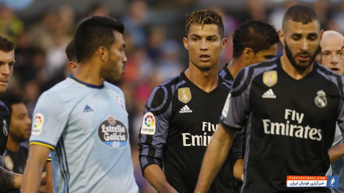 کریستیانو رونالدو ستاره پرتغالی رئال مادرید