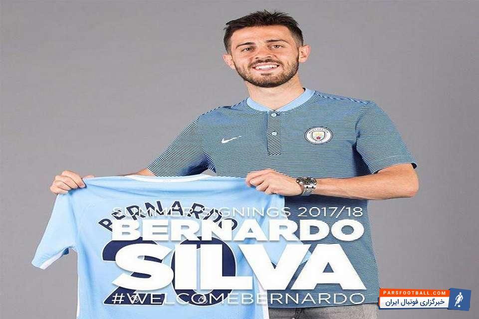 برناردو سیلوا از مشوق اصلی پیوستنش به تیم فوتبال منچسترسیتی گفت