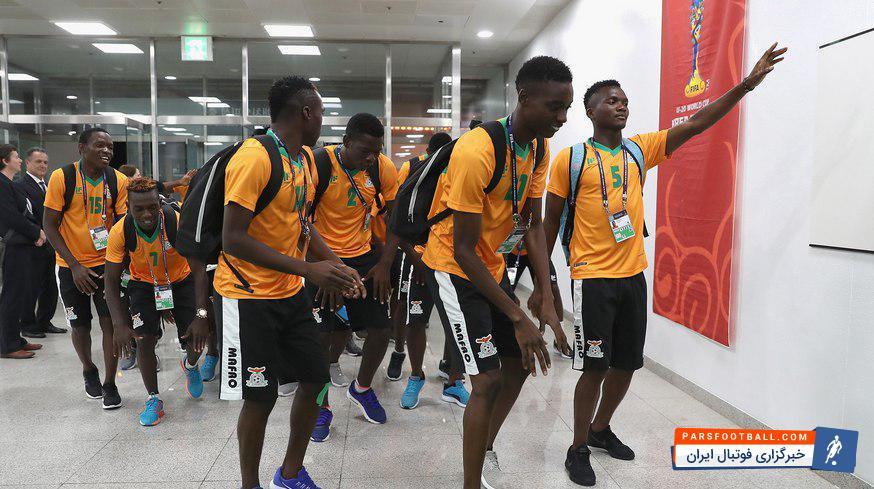 تیم ملی زامبیا ؛ رسوم عجیب تیم ملی زامبیا پیش از حضور در بازی |