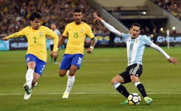 آرژانتین پیروز دیدار دوستانه برابر برزیل