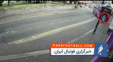 تصادف وحشتناک با اتوبوس