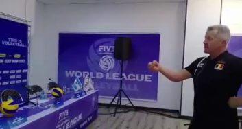 ویتال هینن سرمربی تیم ملی والیبال بلژیک