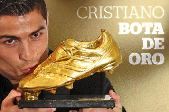 کفش طلای کریستیانو رونالدو