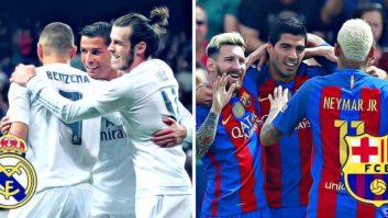 مقایسه مثلث بارسلونا در برابر مثلث رئال مادرید